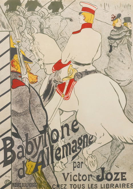 Art Prints of Babylon of Germany by Henri de Toulouse-Lautrec