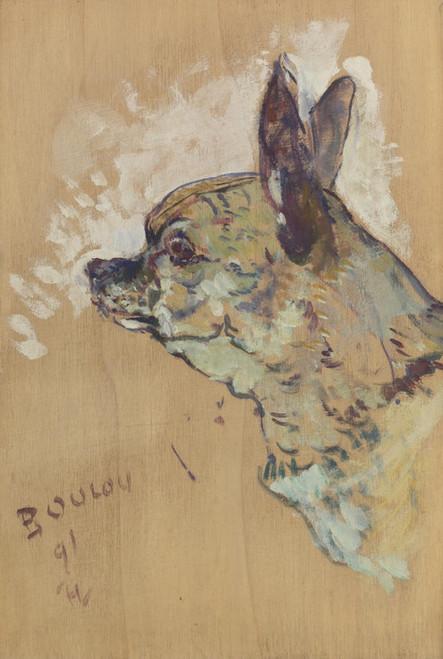 Art Prints of Boulou by Henri de Toulouse-Lautrec