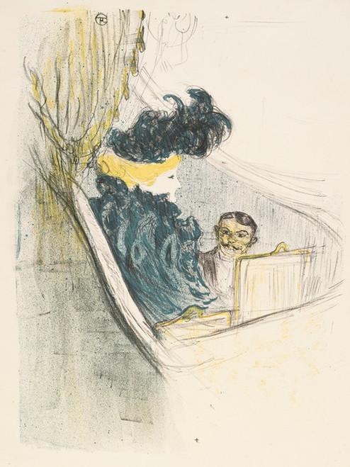 Art Prints of Idylle Princiere by Henri de Toulouse-Lautrec