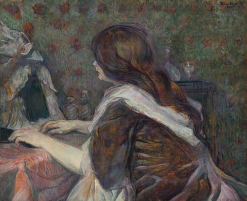 Art Prints of La Toilette, Madame Poupoule by Henri de Toulouse-Lautrec