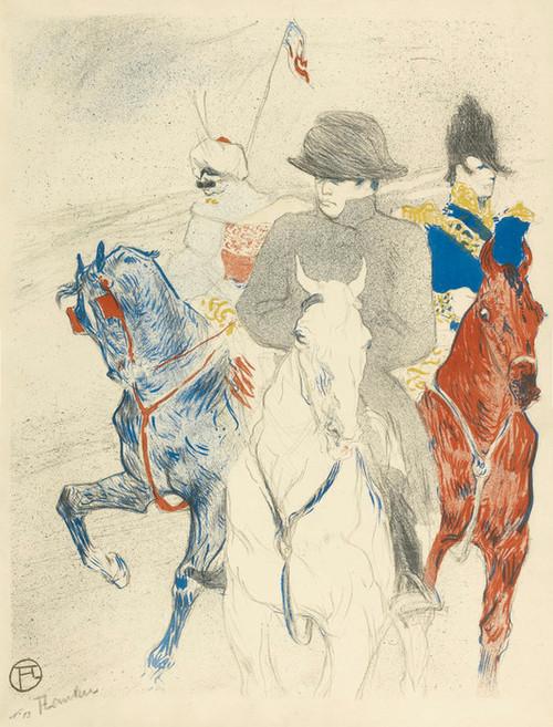 Art Prints of Napoleon by Henri de Toulouse-Lautrec
