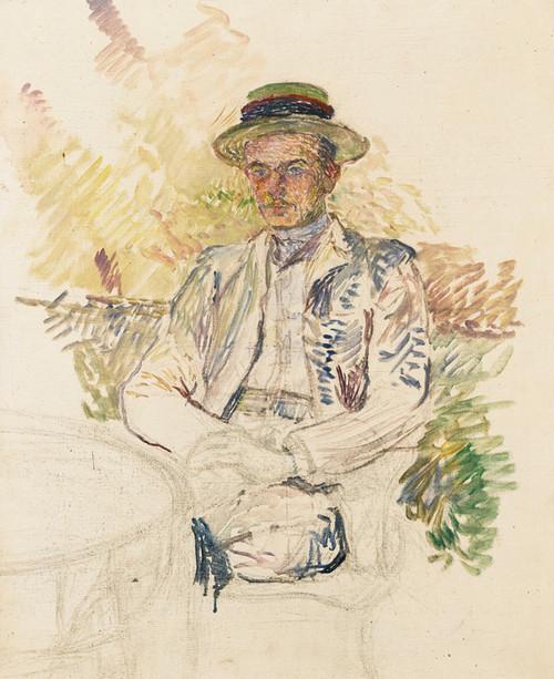 Art Prints of Portrait of Louis Pascal by Henri de Toulouse-Lautrec