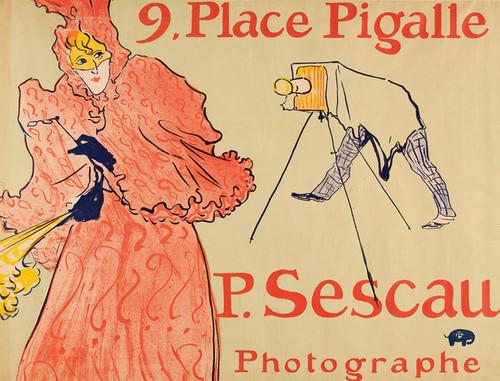 Art Prints of Photographer Sescau by Henri de Toulouse-Lautrec