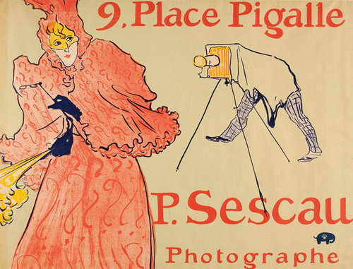 Art Prints of Photographer Sescau by Henri de Toulouse-Lautrec