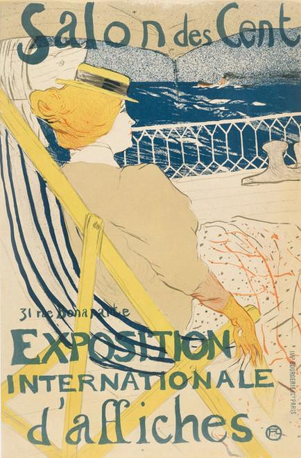 Art Prints of The Passenger of 54 Yacht Ride by Henri de Toulouse-Lautrec