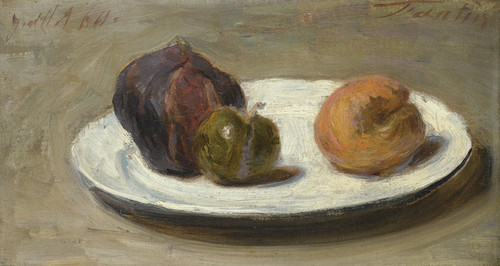 Art Prints of Figs, Apricot and Prune by Henri Fantin-Latour