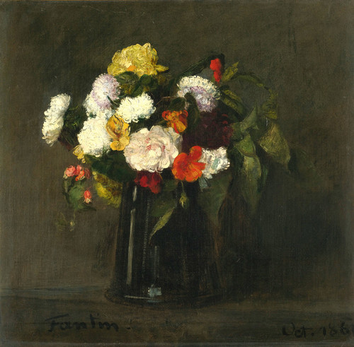 Art Prints of Flowers by Henri Fantin-Latour