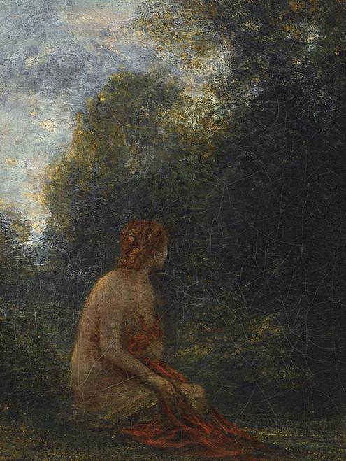 Art Prints of Resting Nymphe by Henri Fantin-Latour