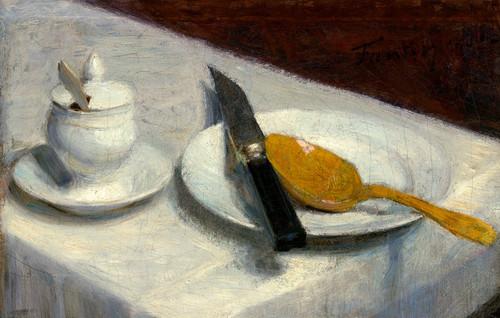Art Prints of Still Life with Mustard Pot by Henri Fantin-Latour