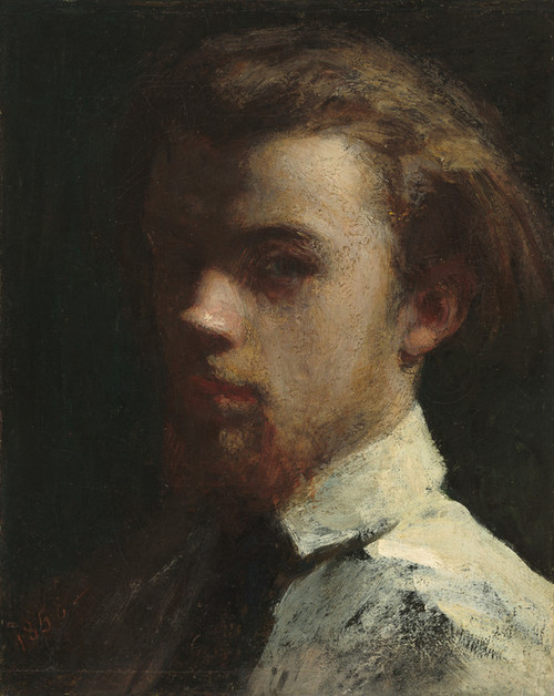Art Prints of Self Portrait 1858 by Henri Fantin-Latour
