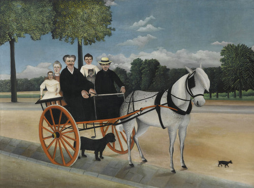 Art Prints of La Carriole du Pere Junier by Henri Rousseau