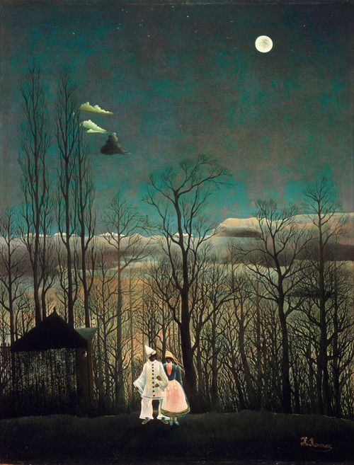 Art Prints of Carnival Evening by Henri Rousseau