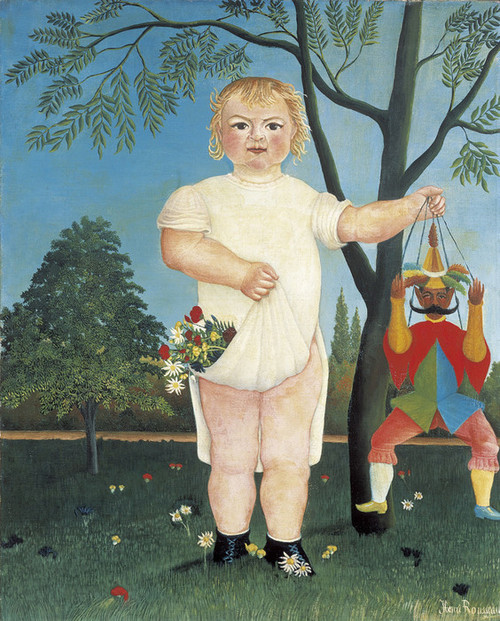 Art Prints of In Celebration of the Child by Henri Rousseau