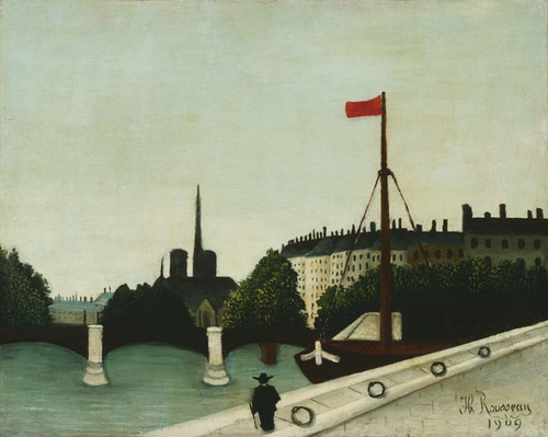 Art Prints of Notre Dame by Henri Rousseau