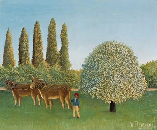 Art Prints of Meadowland by Henri Rousseau