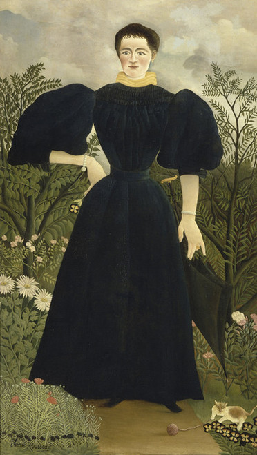 Art Prints of Portrait of Madame M. by Henri Rousseau