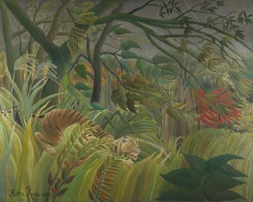 Art Prints of Surprise by Henri Rousseau