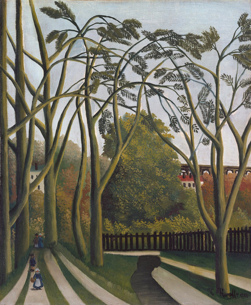 Art Prints of The Banks of the Bievre near Bicetre by Henri Rousseau