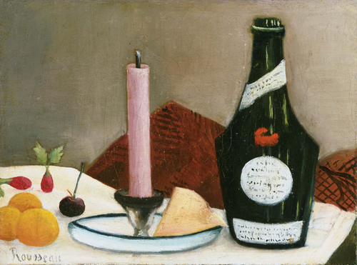 Art Prints of The Pink Candle by Henri Rousseau