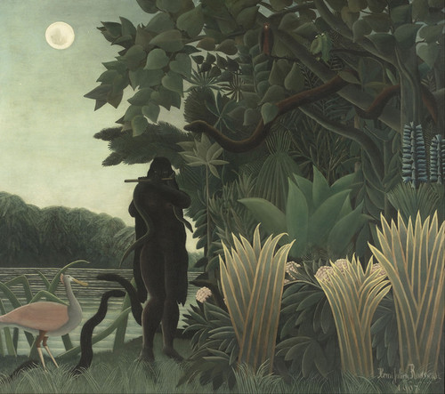 Art Prints of The Snake Charmer by Henri Rousseau