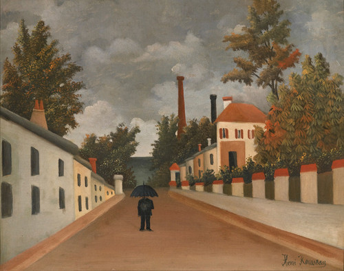 Art Prints of View of Paris by Henri Rousseau