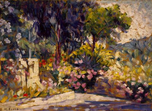 Art Prints of The Flowered Terrace by Henri-Edmond Cross
