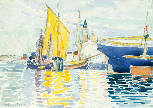 Art Prints of Venice by Henri-Edmond Cross