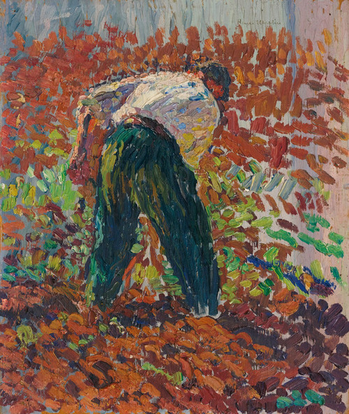 Art Prints of Farmer in the Field by Henri-Jean Guillaume Martin