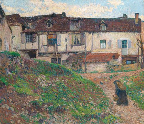 Art Prints of Return Home by Henri-Jean Guillaume Martin