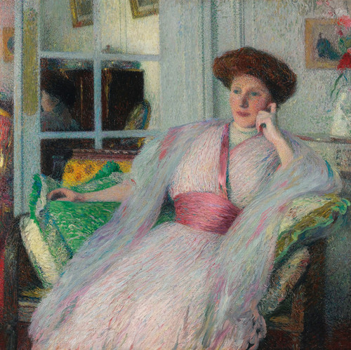 Art Prints of Portrait of Isabelle Viviana by Henri-Jean Guillaume Martin