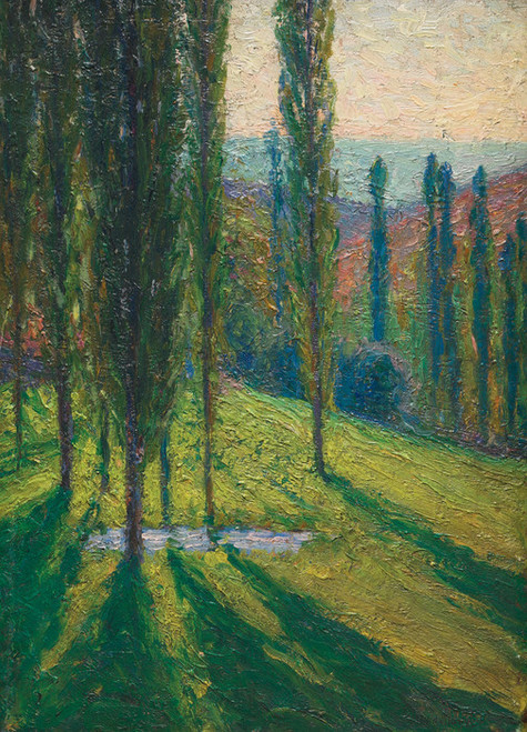 Art Prints of At Labastide Green by Henri-Jean Guillaume Martin