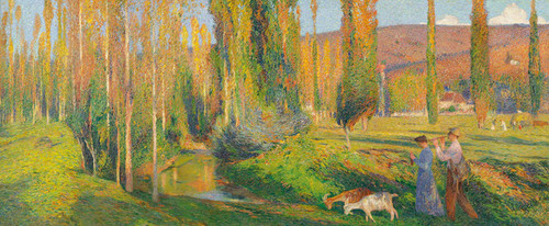 Art Prints of The Joy of Living by Henri-Jean Guillaume Martin