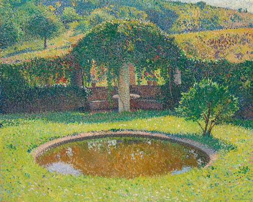 Art Prints of Tonnelle Basin and Southwest Park by Henri-Jean Guillaume Martin