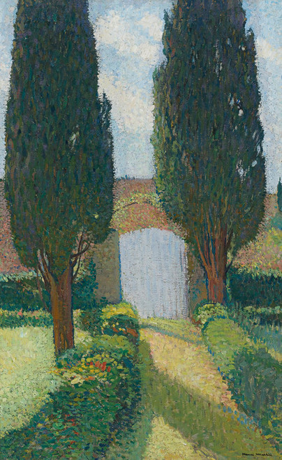 Art Prints of Garden at Marquayrol by Henri-Jean Guillaume Martin