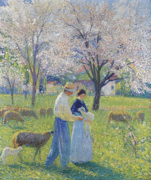 Art Prints of Spring Love by Henri-Jean Guillaume Martin