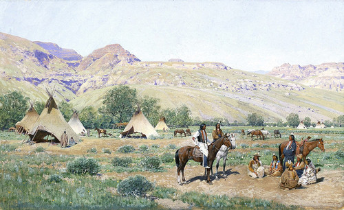 Art Prints of Council of the Chiefs by Henry Farny