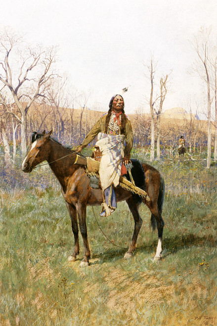 Art Prints of Crow Scouts by Henry Farny