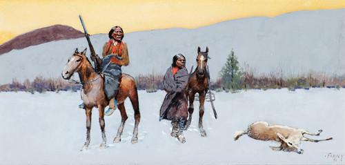 Art Prints of The Wanderers by Henry Farny