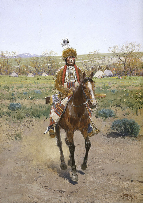 Art Prints of Sioux Indian by Henry Farny