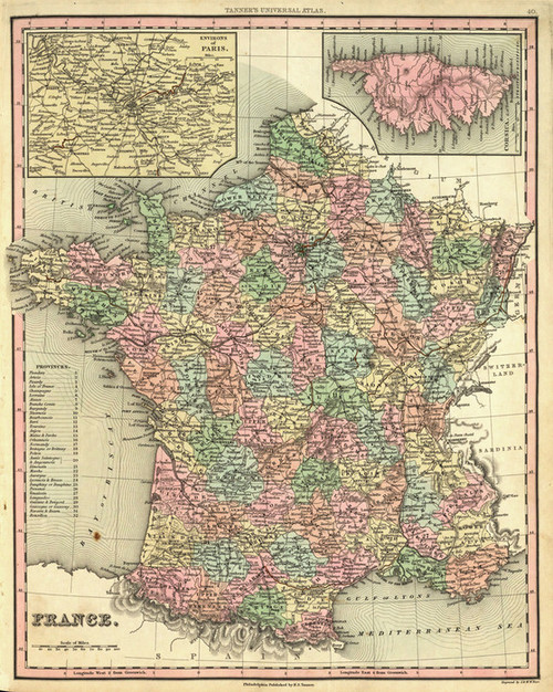 Art Prints of France, 1836 (0977041) by Henry S. Tanner