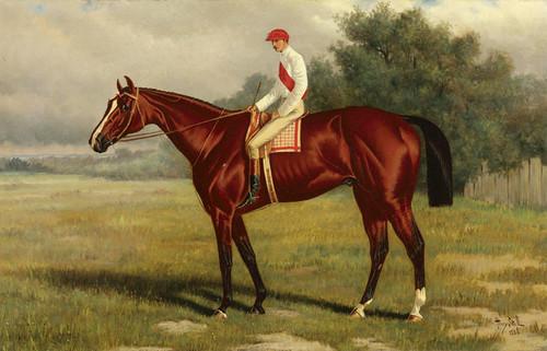 Art Prints of Leonatas, Winner of the 1883 Kentry Derby by Henry Stull