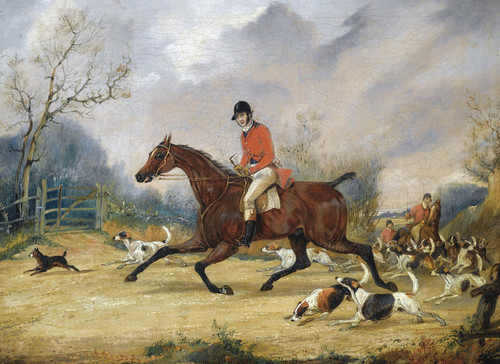 Art Prints of Going to Cover by Henry Thomas Alken