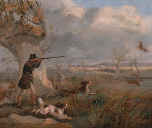 Art Prints of Duck Shooting by Henry Thomas Alken