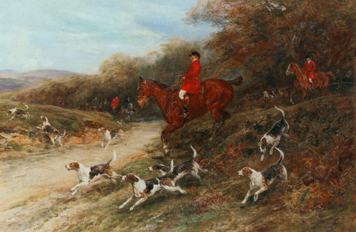 Art Prints of Down the Bank by Heywood Hardy