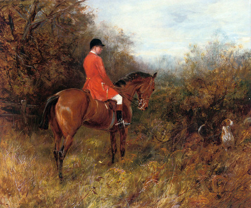 Art Prints of Drawing Covert, No. 2 by Heywood Hardy