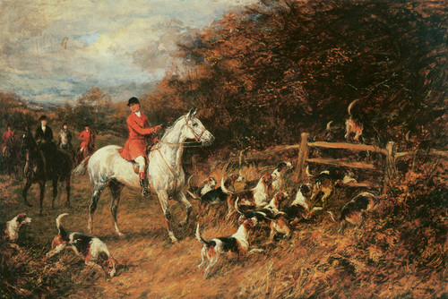 Art Prints of In for the Kill by Heywood Hardy