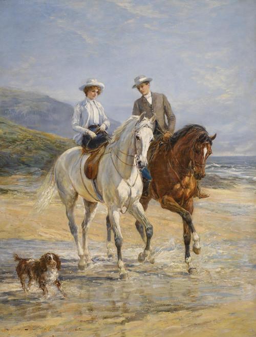 Art Prints of Pleasant Company by Heywood Hardy