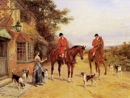 Art Prints of Off to the Meet by Heywood Hardy