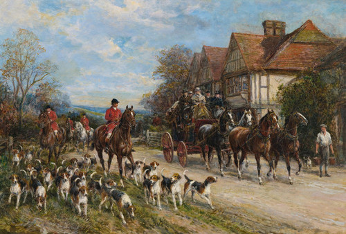 Art Prints of Setting Out by Heywood Hardy