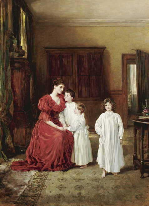 Art Prints of The Letherbridge Family, 1891 by Heywood Hardy